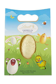 LINDT Milk chocolate Easter egg with chick 105g