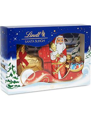 LINDT Santa's sleigh set 245g