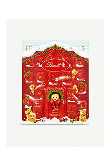 LINDT Lindt adorable bear advent calendar 250g