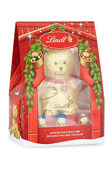 LINDT Adorable Bear Family milk chocolate set 230g