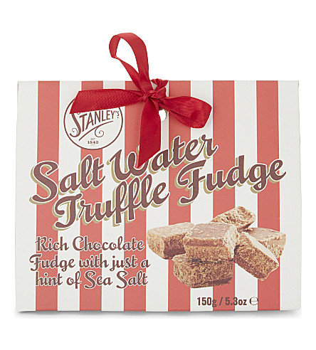 MR STANLEY'S Salt water truffle fudge 150g