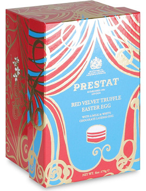 PRESTAT Red velvet theatre easter egg 170g