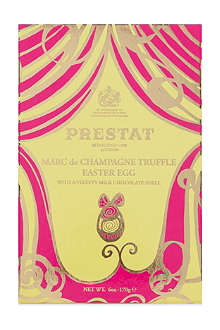 PRESTAT Marc de Champagne chocolate Easter egg 170g
