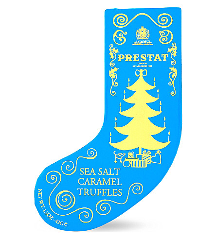 PRESTAT Sea salt caramel truffle stocking 42g