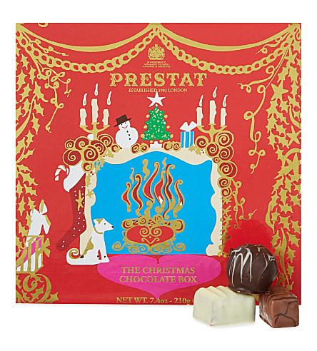 PRESTAT The Christmas chocolate box 210g
