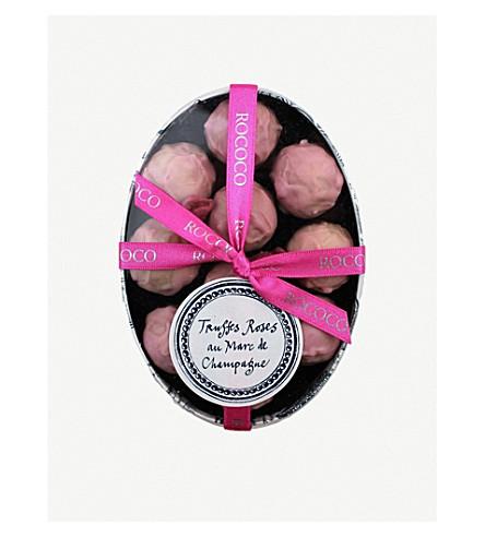 ROCOCO Pink Marc de Champagne Truffles box of 10