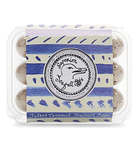 ROCOCO Superior Seagull salted caramel eggs 145g