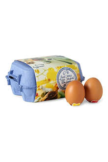 ROCOCO Real hen's eggs filled with hazelnut praline 240g