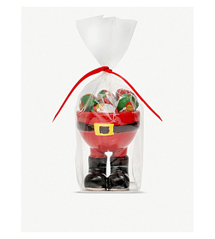 CANDY HOUSE Santa egg cup with chocolates 44g