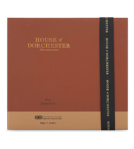 HOUSE OF DORCHESTER Chocolate nut selection 155g