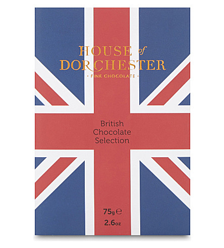 HOUSE OF DORCHESTER British chocolate selection 75g