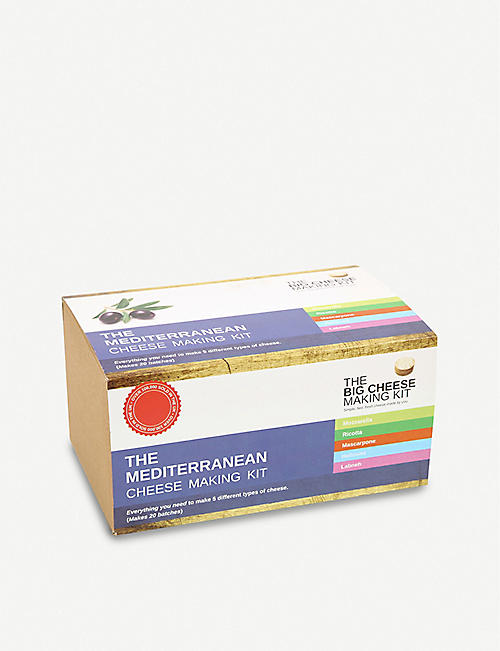 THE BIG CHEESE MAKING KIT Mediterranean kit