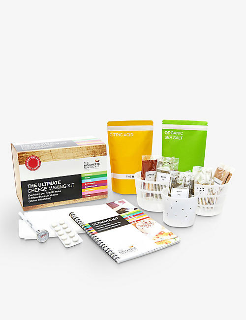 THE BIG CHEESE MAKING KIT The ultimate cheese making kit