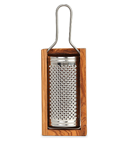 SEGGIANO Olive wood medium cheese grater