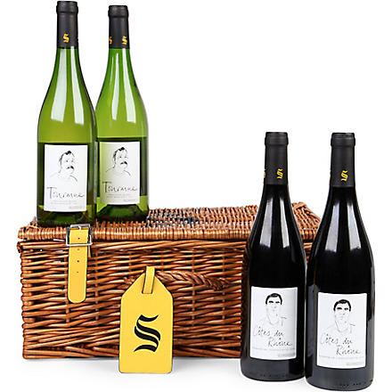 SELFRIDGES SELECTION The Vinter's hamper