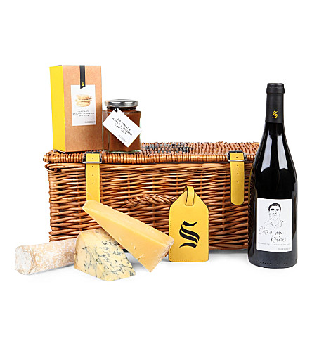 SELFRIDGES SELECTION British Cheese Hamper