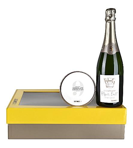 SELFRIDGES SELECTION Champagne & Chocolates gift box