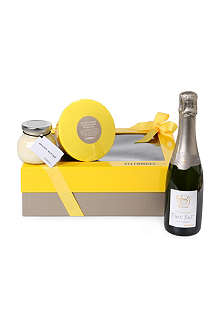 SELFRIDGES SELECTION Champagne & Christmas pudding giftbox