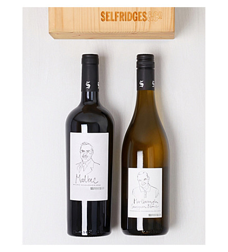 SELFRIDGES SELECTION New World Wines gift box