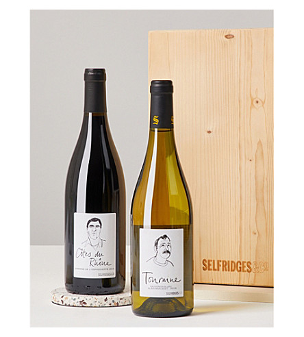 SELFRIDGES SELECTION Old World Wines gift box