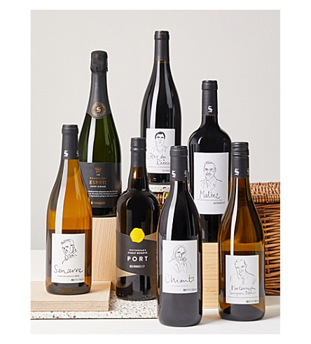 SELFRIDGES SELECTION Sommelier's Choice hamper