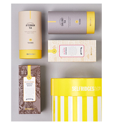 SELFRIDGES SELECTION Tea Time Treats Gift Box