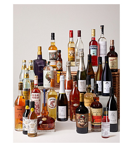 SELFRIDGES SELECTION Ultimate Drinks Cabinet Hamper