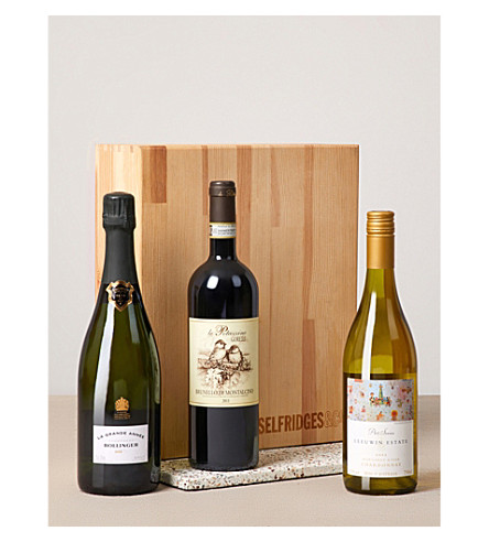 SELFRIDGES SELECTION Sommelier's Selection: Wine & Champagne Gift Box