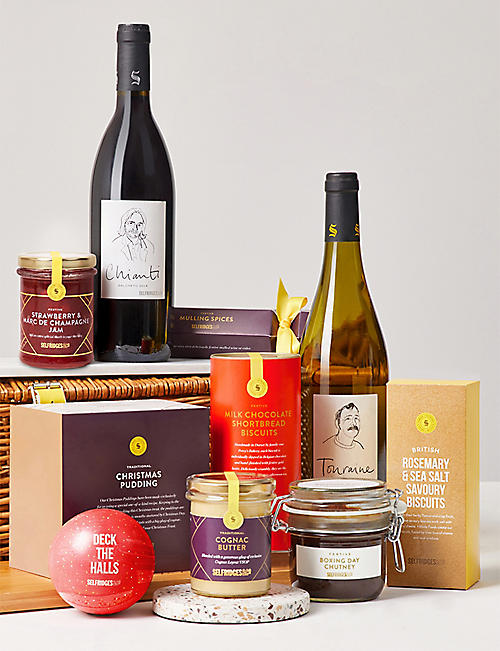 selfridges selection classic christmas gift basket