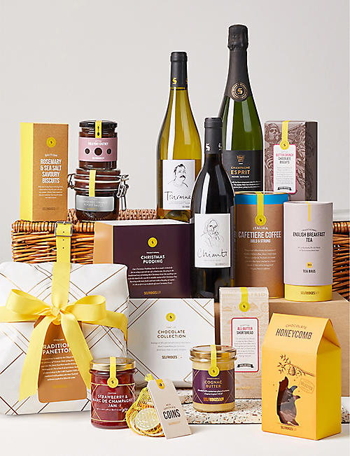 selfridges selection family gift basket