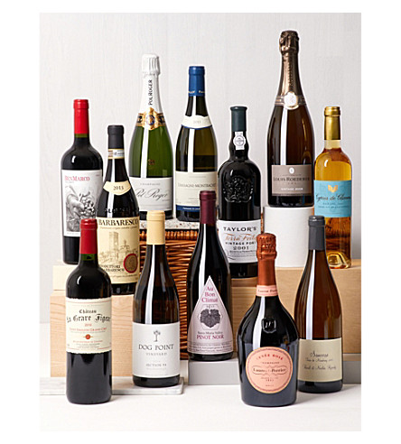 SELFRIDGES SELECTION 12 Days of Wine Hamper