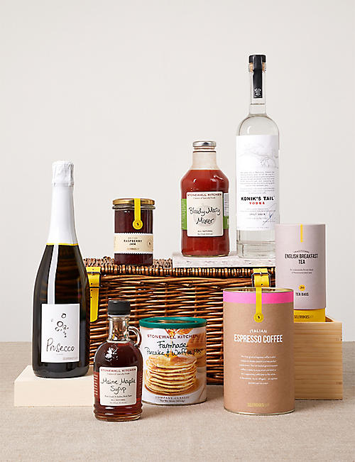 selfridges selection festive brunch gift basket
