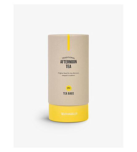 SELFRIDGES SELECTION Afternoon Tea tea bags 50g