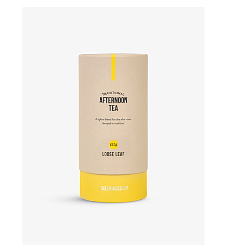 SELFRIDGES SELECTION Afternoon Tea loose leaf tea 125g