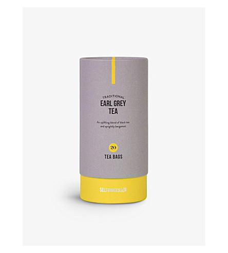SELFRIDGES SELECTION Earl Grey tea bags 50g