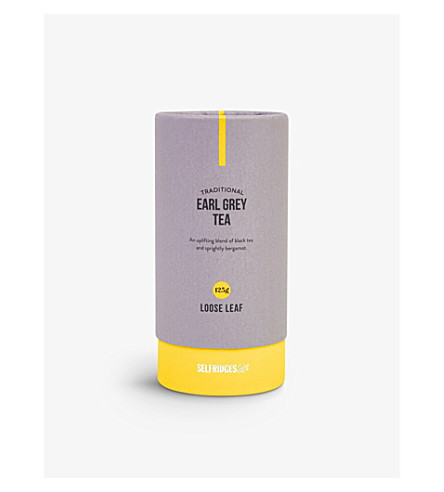 SELFRIDGES SELECTION 伯爵灰色散茶叶茶叶125g
