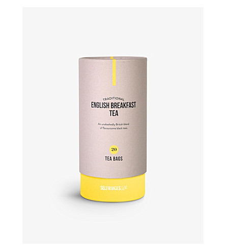 SELFRIDGES SELECTION English Breakfast tea bags 60g