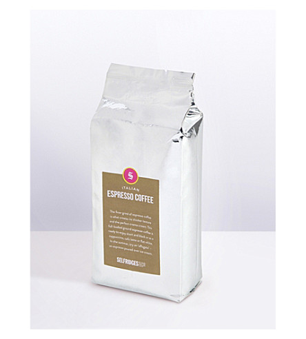 SELFRIDGES SELECTION Italian espresso ground coffee refill