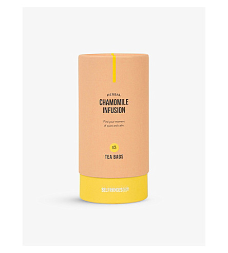 SELFRIDGES SELECTION Herbal Camomile infusion