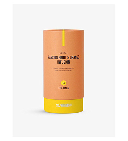 SELFRIDGES SELECTION Passion fruit & orange infusion tea bags