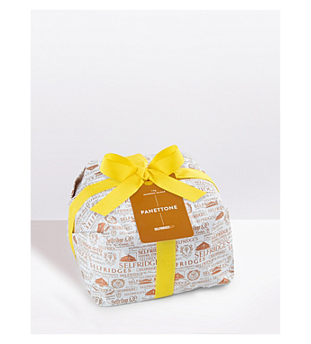 SELFRIDGES SELECTION Wrapped Marron Glacé panettone
