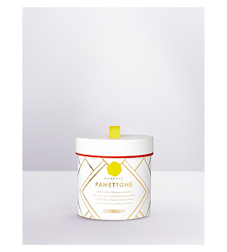 SELFRIDGES SELECTION Moscato Panettone mini hat box 100g
