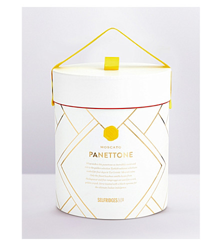 SELFRIDGES SELECTION Moscato Panettone hat box 1kg