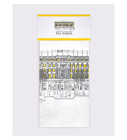 SELFRIDGES SELECTION Heritage tea towel