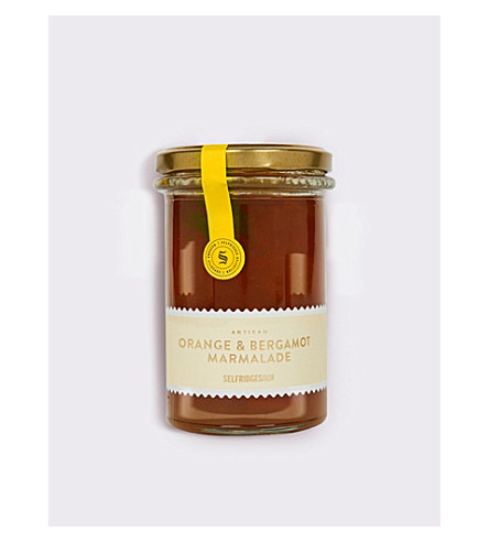 SELFRIDGES SELECTION Orange & bergamot marmalade 340g