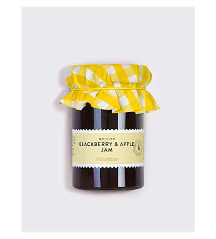 SELFRIDGES SELECTION British blackberry and apple jam 340g