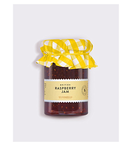 SELFRIDGES SELECTION British raspberry jam 110g