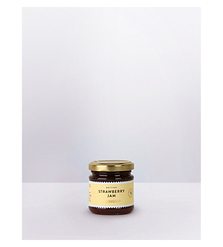 SELFRIDGES SELECTION British strawberry jam 110g