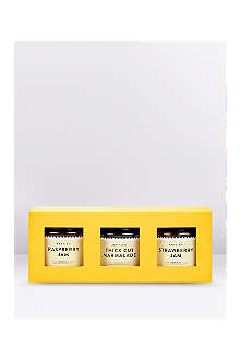 SELFRIDGES SELECTION British mini preserve trio  3x110g