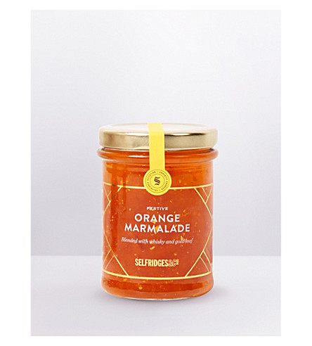 SELFRIDGES SELECTION Festive orange marmalade 250g